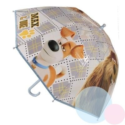 Dětský průhledný deštník Tajný život mazlíčků 316