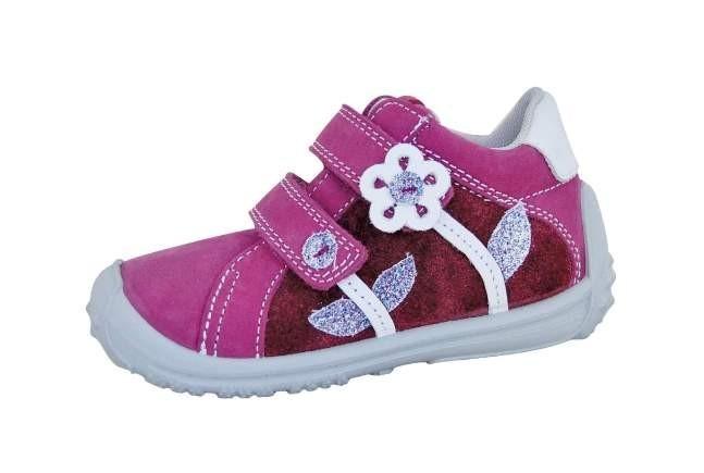 1ba9e43eb1d9 Dětské celoroční boty s membránou Protetika Samanta purple