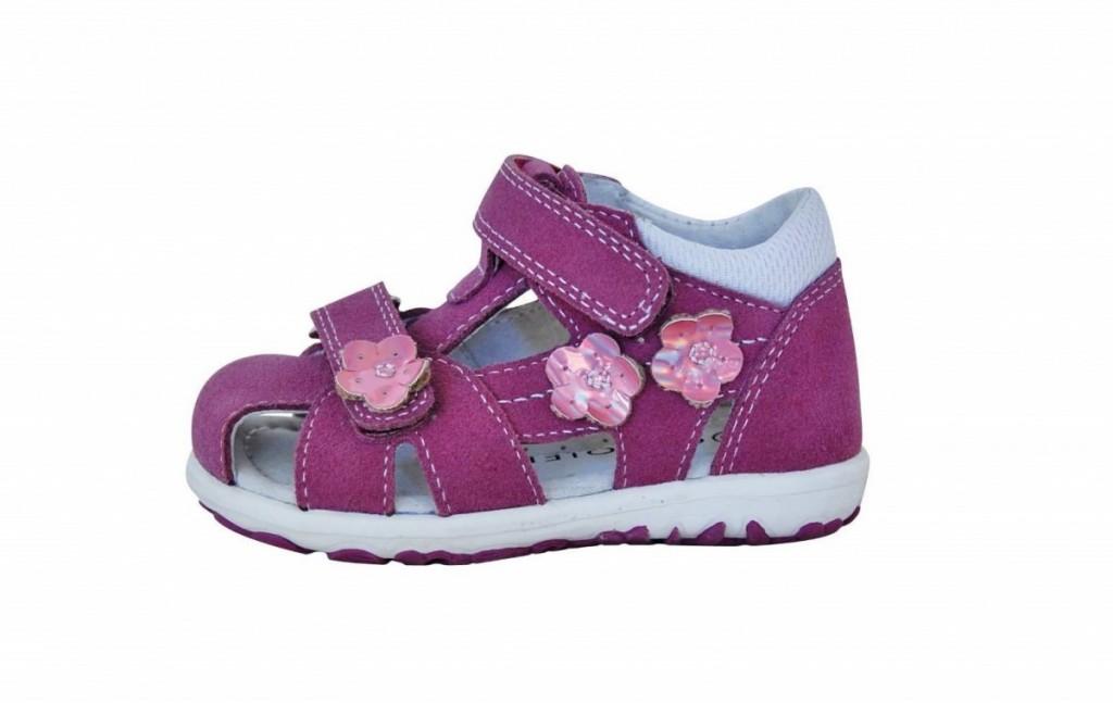 97f5114f7370 Dětské sandály Protetika Violet lila